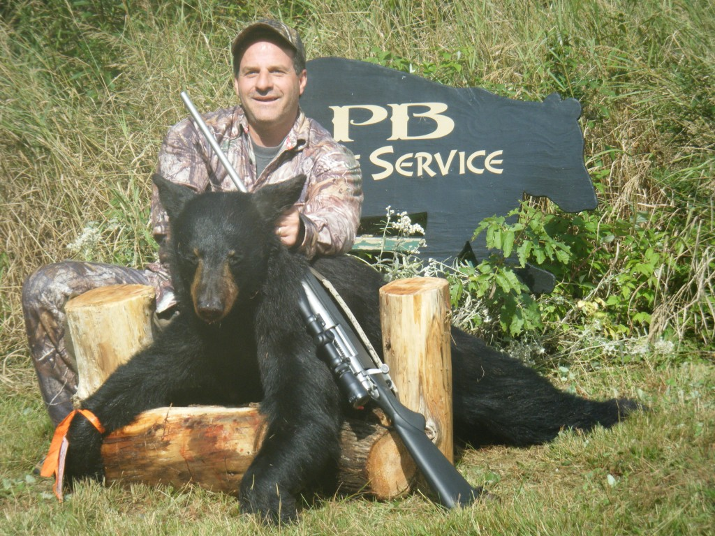 PB Guide Black Bear Hunt Rates